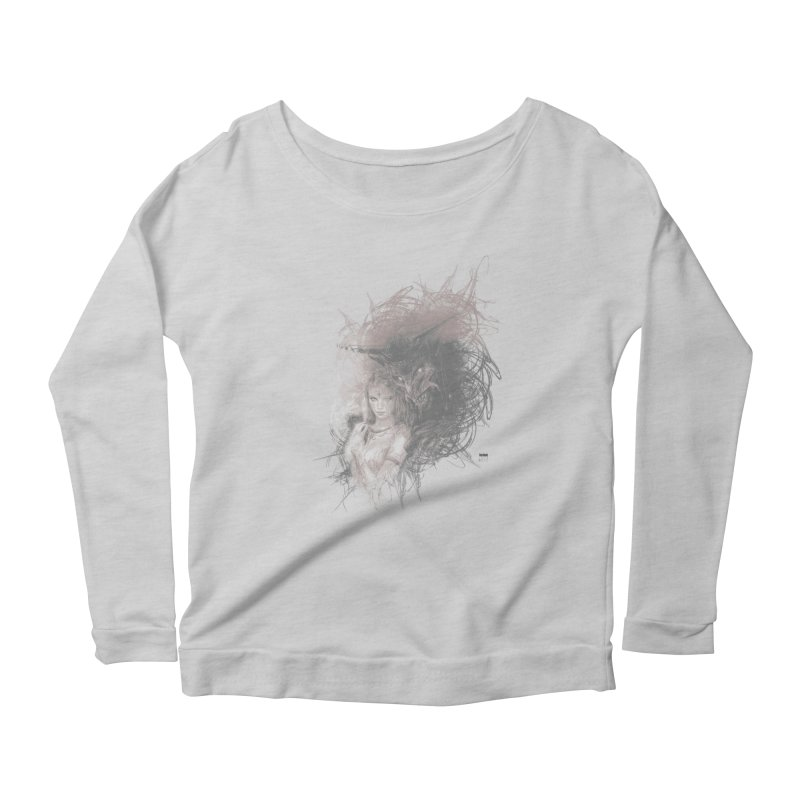 Luis Royo - New Secrets Women's Scoop Neck Longsleeve T-Shirt by Laberinto Gris