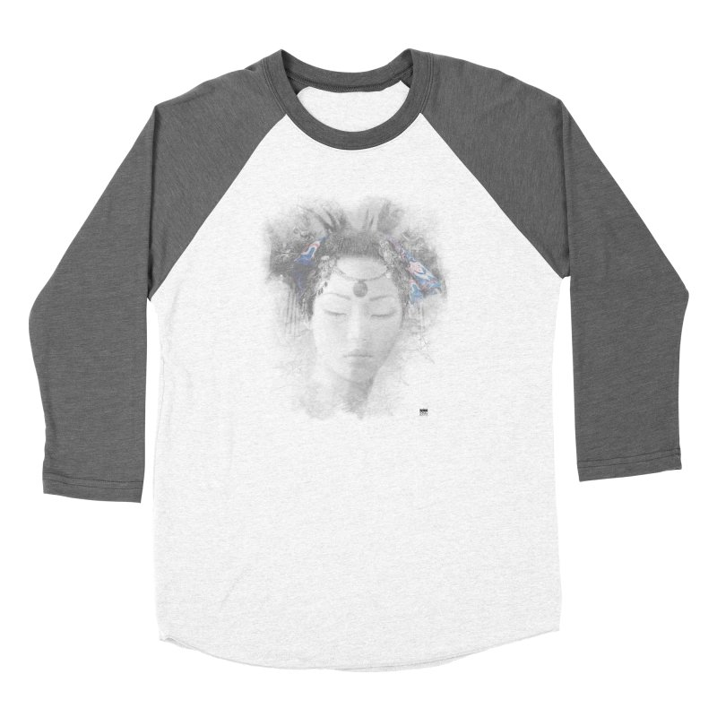 Romulo Royo - Goddesses of Nibiru Women's Baseball Triblend Longsleeve T-Shirt by Laberinto Gris