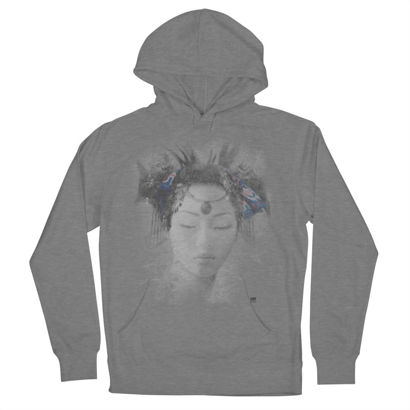 Romulo Royo - Goddesses of Nibiru Women's French Terry Pullover Hoody by Laberinto Gris
