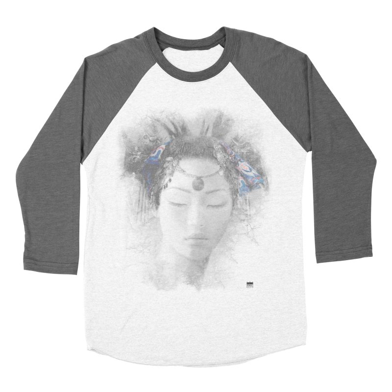 Romulo Royo - Goddesses of Nibiru Men's Baseball Triblend Longsleeve T-Shirt by Laberinto Gris