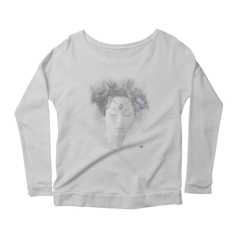 Romulo Royo - Goddesses of Nibiru Women's Scoop Neck Longsleeve T-Shirt by Laberinto Gris
