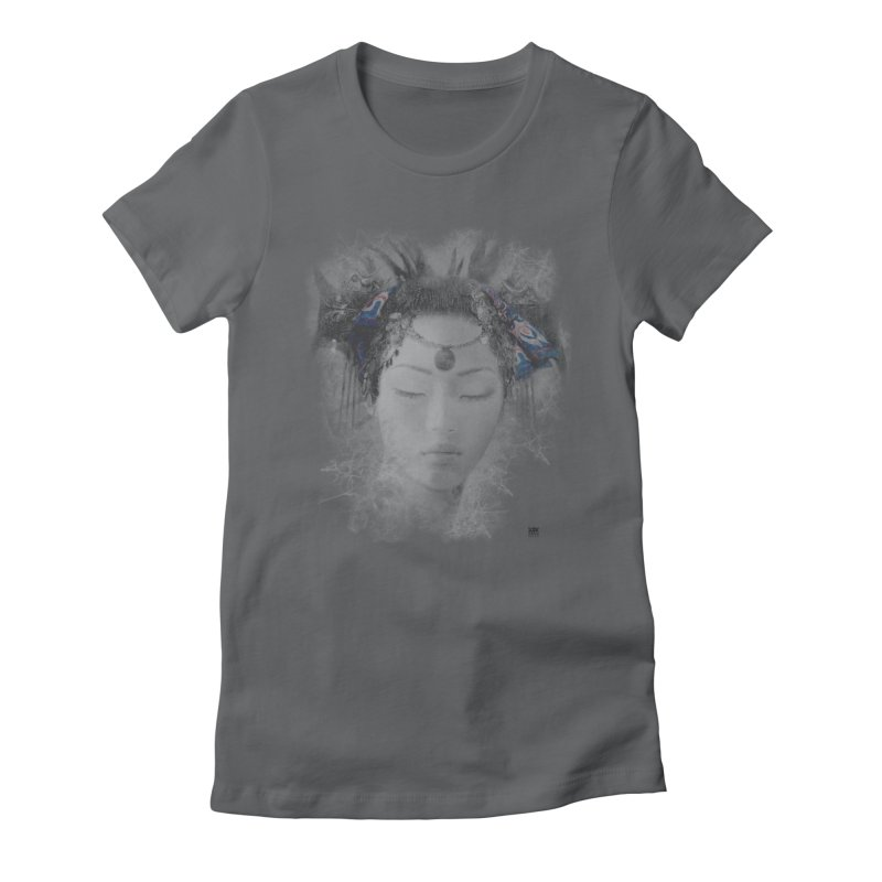 Romulo Royo - Goddesses of Nibiru Women's Fitted T-Shirt by Laberinto Gris