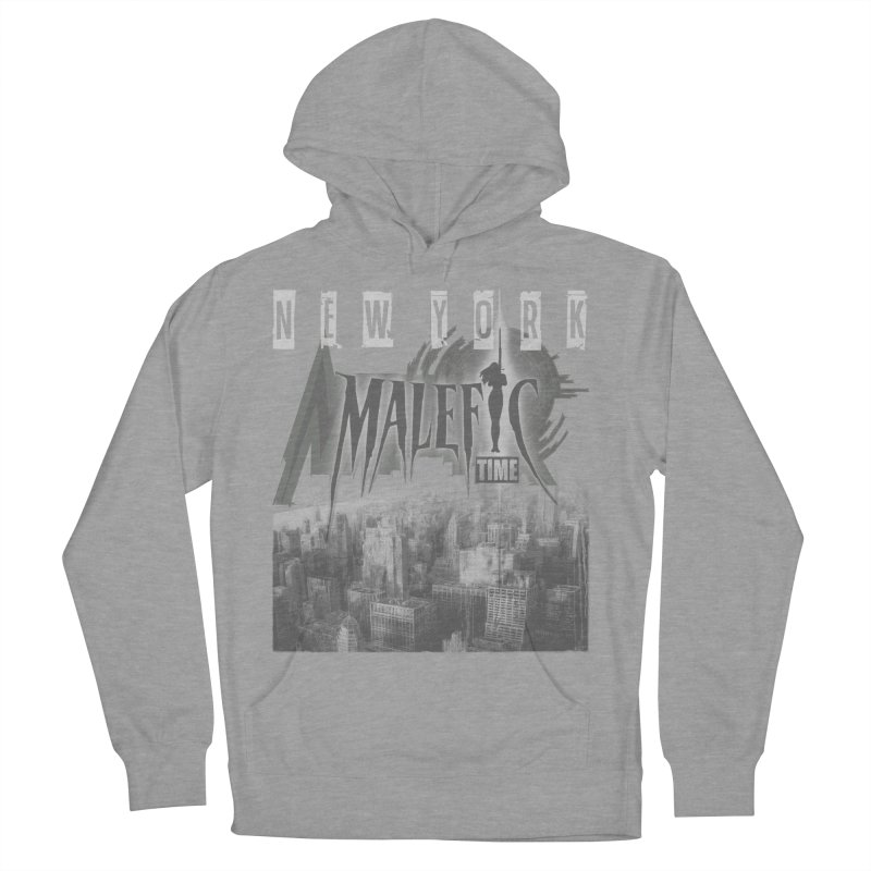 Romulo Royo - Malefic Time Men's French Terry Pullover Hoody by Laberinto Gris
