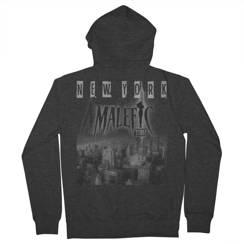 Romulo Royo - Malefic Time Men's French Terry Zip-Up Hoody by Laberinto Gris