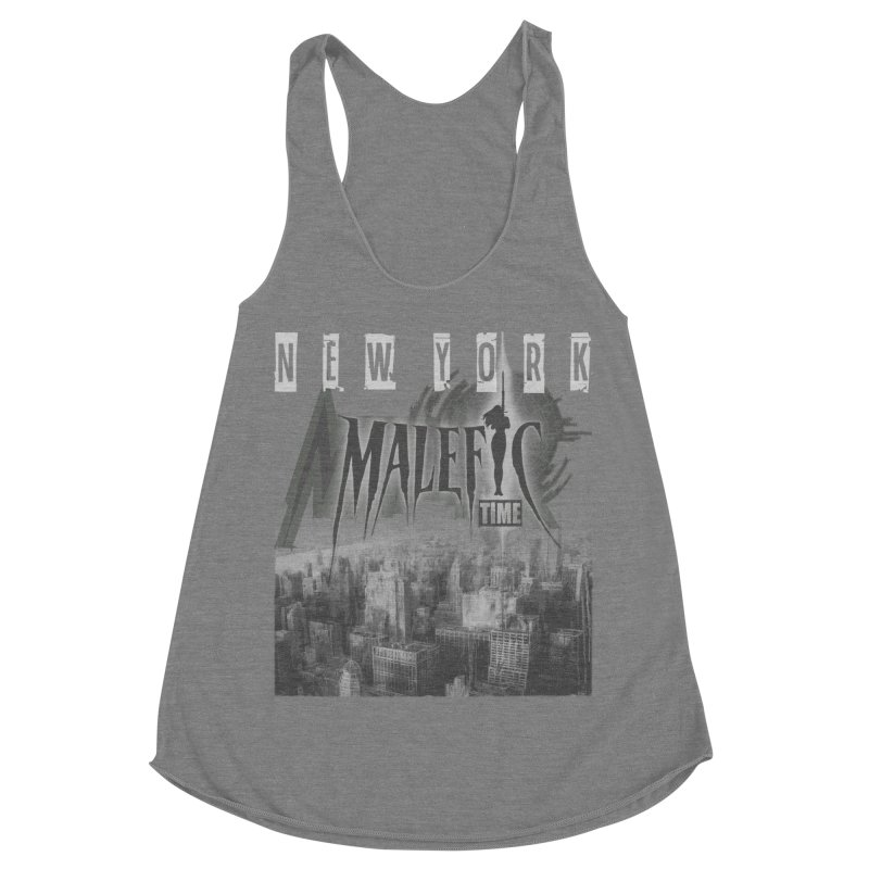 Romulo Royo - Malefic Time Women's Racerback Triblend Tank by Laberinto Gris