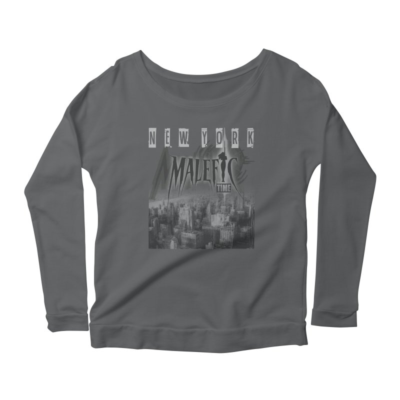 Romulo Royo - Malefic Time Women's Scoop Neck Longsleeve T-Shirt by Laberinto Gris