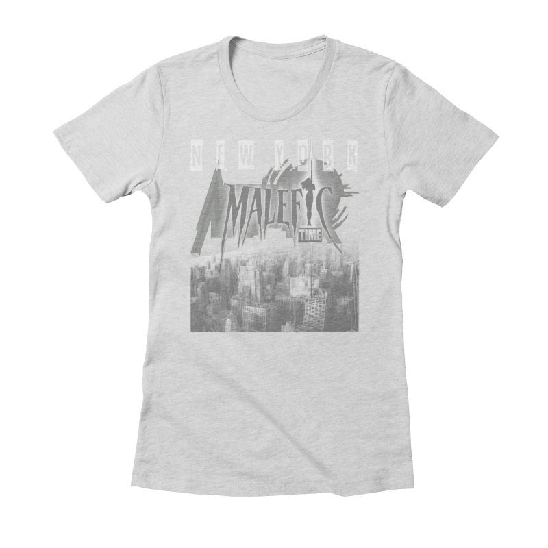 Romulo Royo - Malefic Time Women's Fitted T-Shirt by Laberinto Gris
