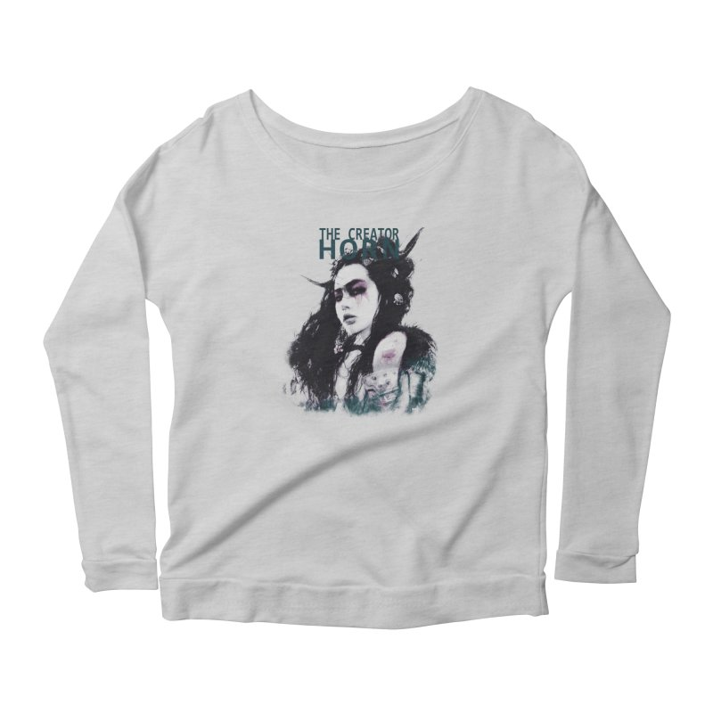 Romulo Royo - Spines and Thorns Women's Scoop Neck Longsleeve T-Shirt by Laberinto Gris