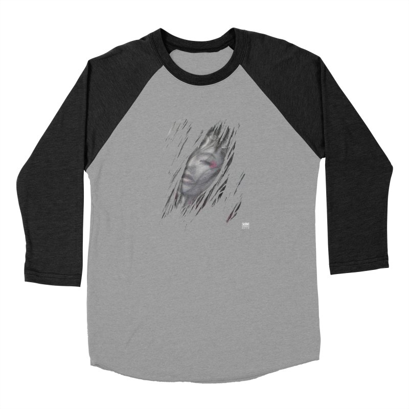 Romulo Royo - The Creator Horn Men's Baseball Triblend Longsleeve T-Shirt by Laberinto Gris