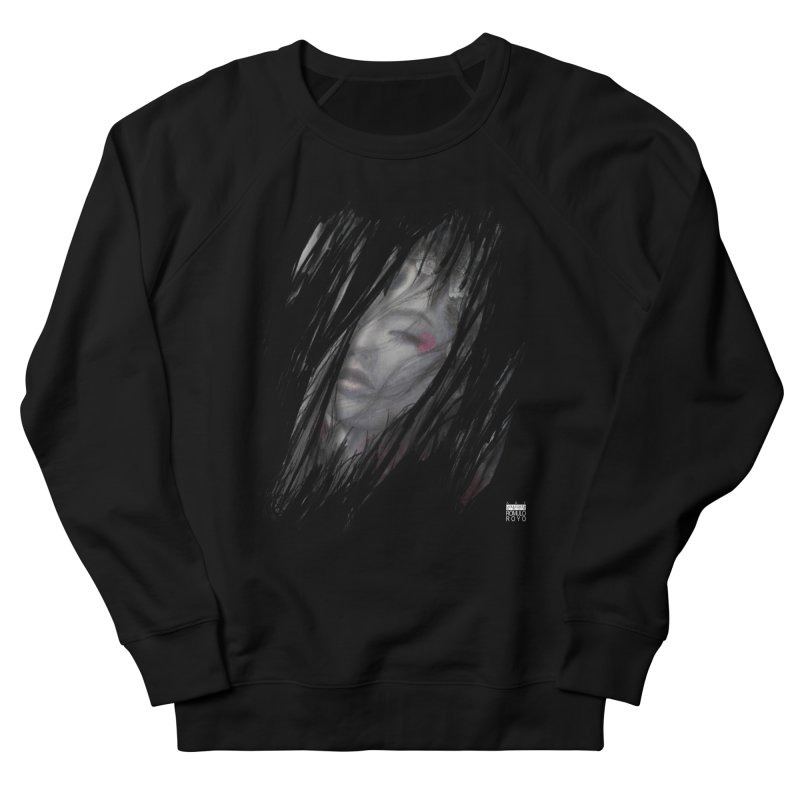 Romulo Royo - The Creator Horn Women's French Terry Sweatshirt by Laberinto Gris