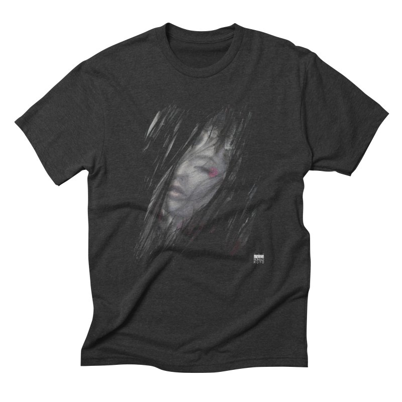 Romulo Royo - The Creator Horn Men's Triblend T-Shirt by Laberinto Gris