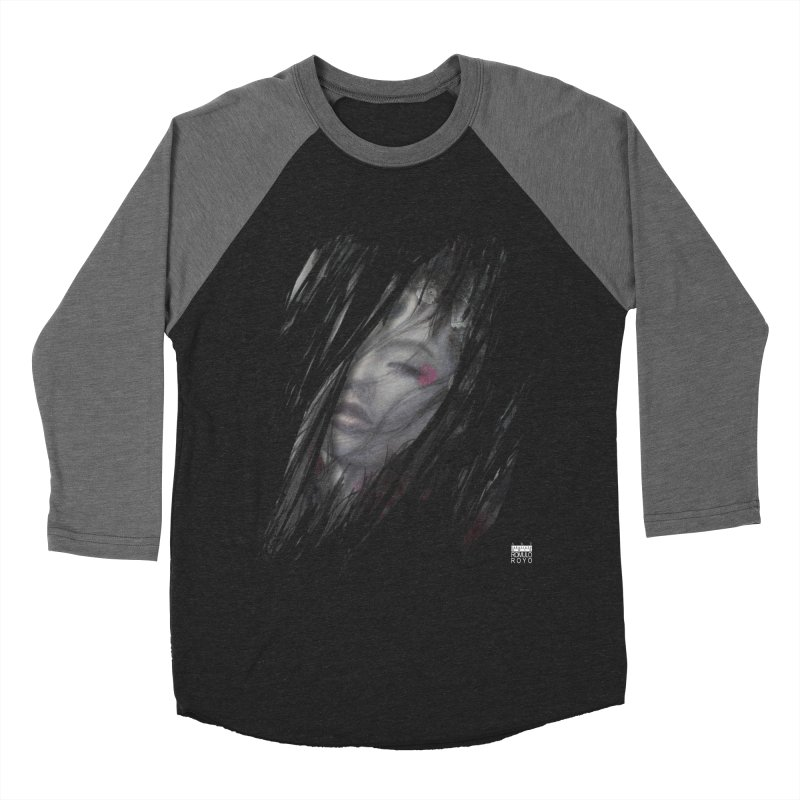 Romulo Royo - The Creator Horn Women's Baseball Triblend Longsleeve T-Shirt by Laberinto Gris