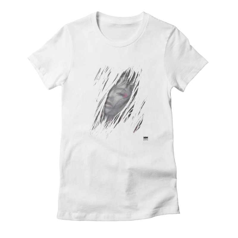Romulo Royo - The Creator Horn 2 Women's Fitted T-Shirt by Laberinto Gris