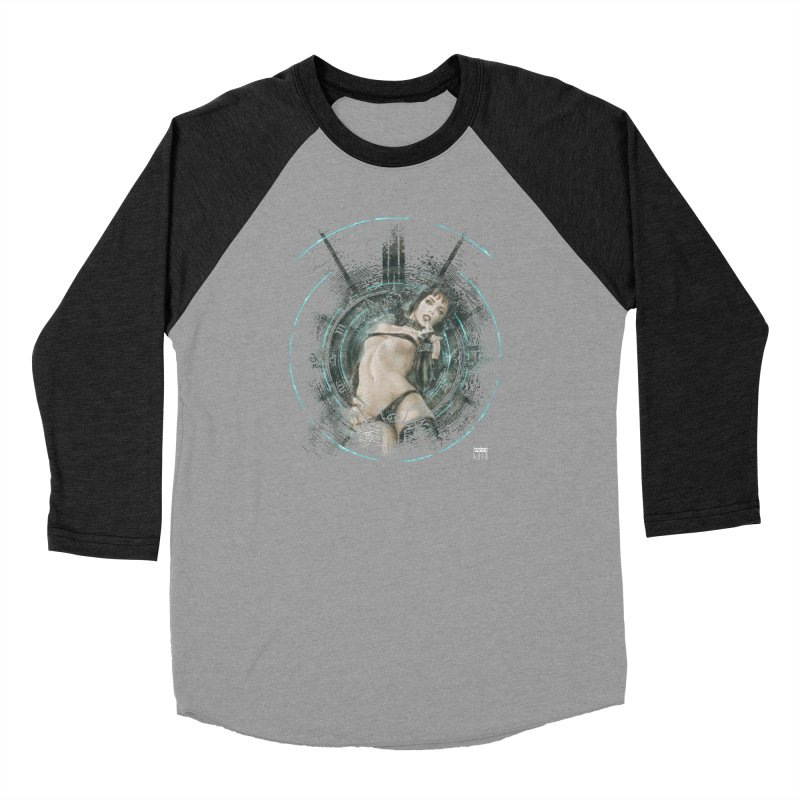 Luis Royo - Prohibited Women's Baseball Triblend Longsleeve T-Shirt by Laberinto Gris