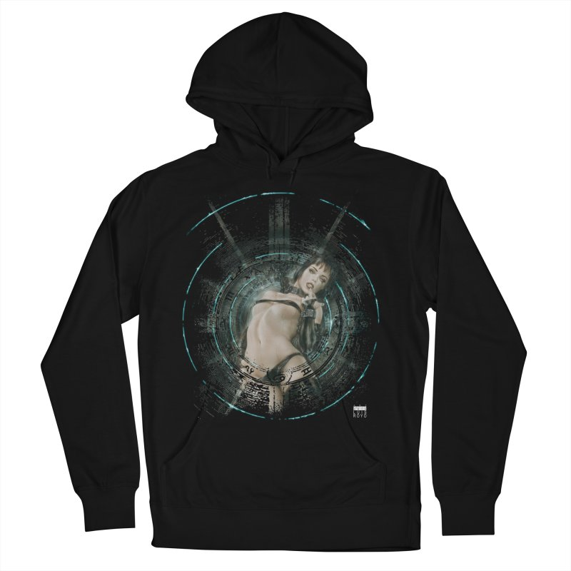 Luis Royo - Prohibited Men's French Terry Pullover Hoody by Laberinto Gris
