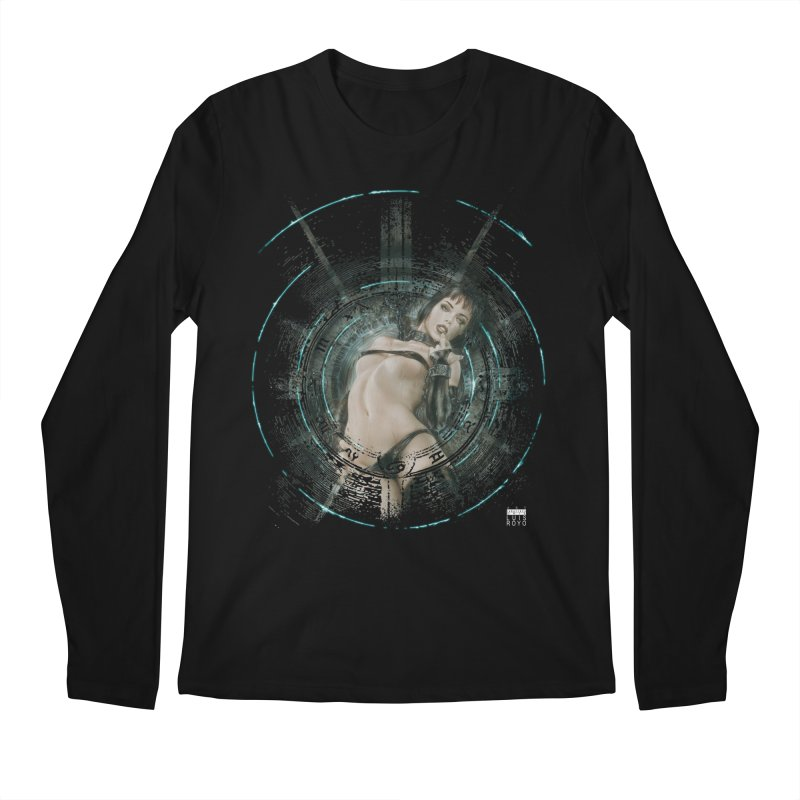 Luis Royo - Prohibited Men's Regular Longsleeve T-Shirt by Laberinto Gris