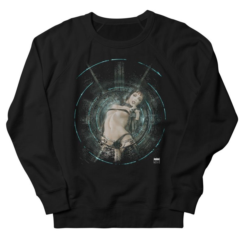 Luis Royo - Prohibited Women's French Terry Sweatshirt by Laberinto Gris