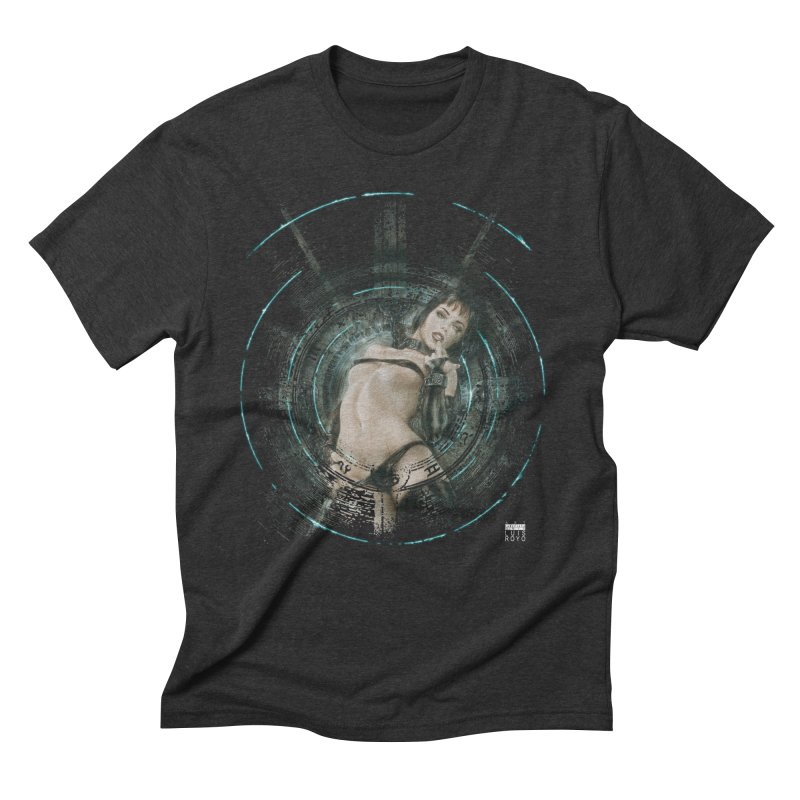 Luis Royo - Prohibited Men's Triblend T-Shirt by Laberinto Gris