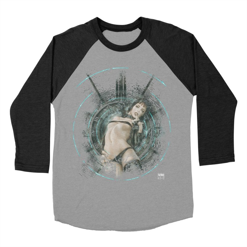 Luis Royo - Prohibited Men's Baseball Triblend Longsleeve T-Shirt by Laberinto Gris