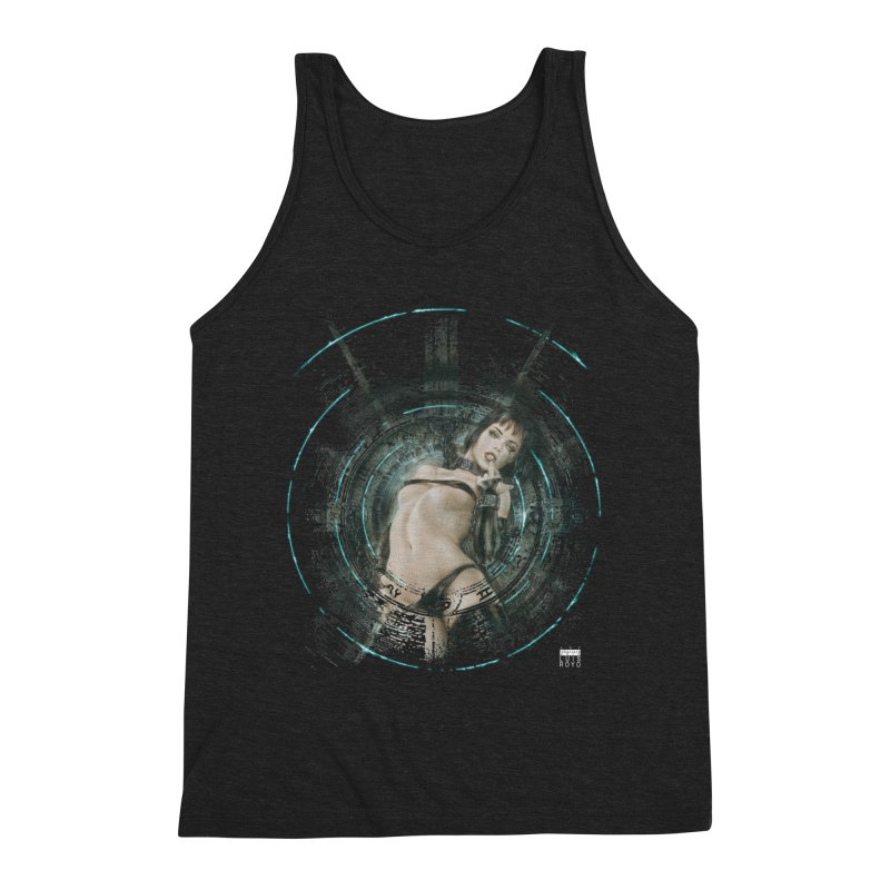 Luis Royo - Prohibited Men's Triblend Tank by Laberinto Gris