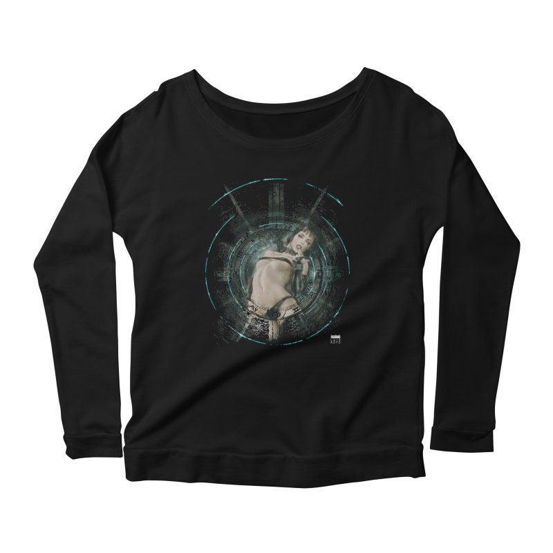 Luis Royo - Prohibited Women's Scoop Neck Longsleeve T-Shirt by Laberinto Gris