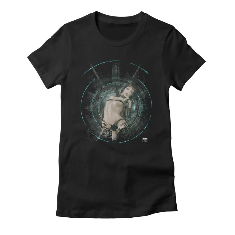 Luis Royo - Prohibited Women's Fitted T-Shirt by Laberinto Gris