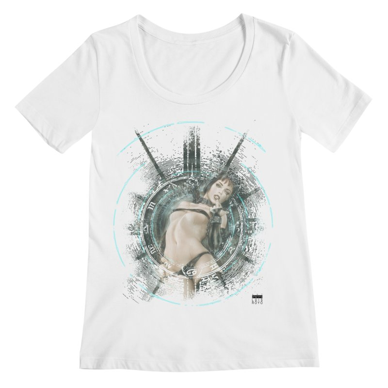 Luis Royo - Prohibited Women's Regular Scoop Neck by Laberinto Gris