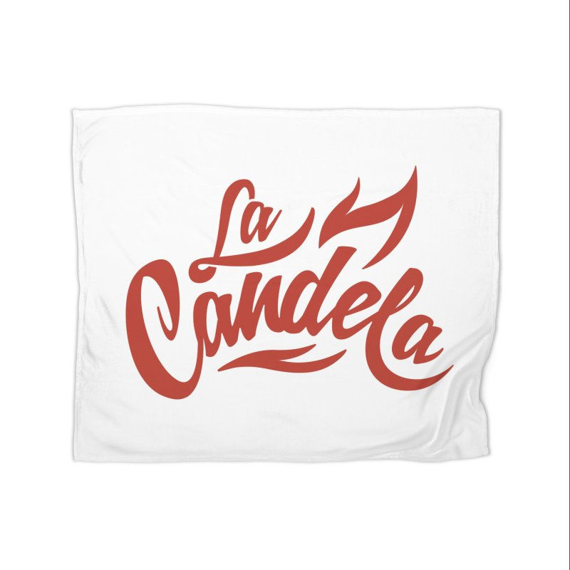 La Candela Red Label Home Blanket by La Candela Shop
