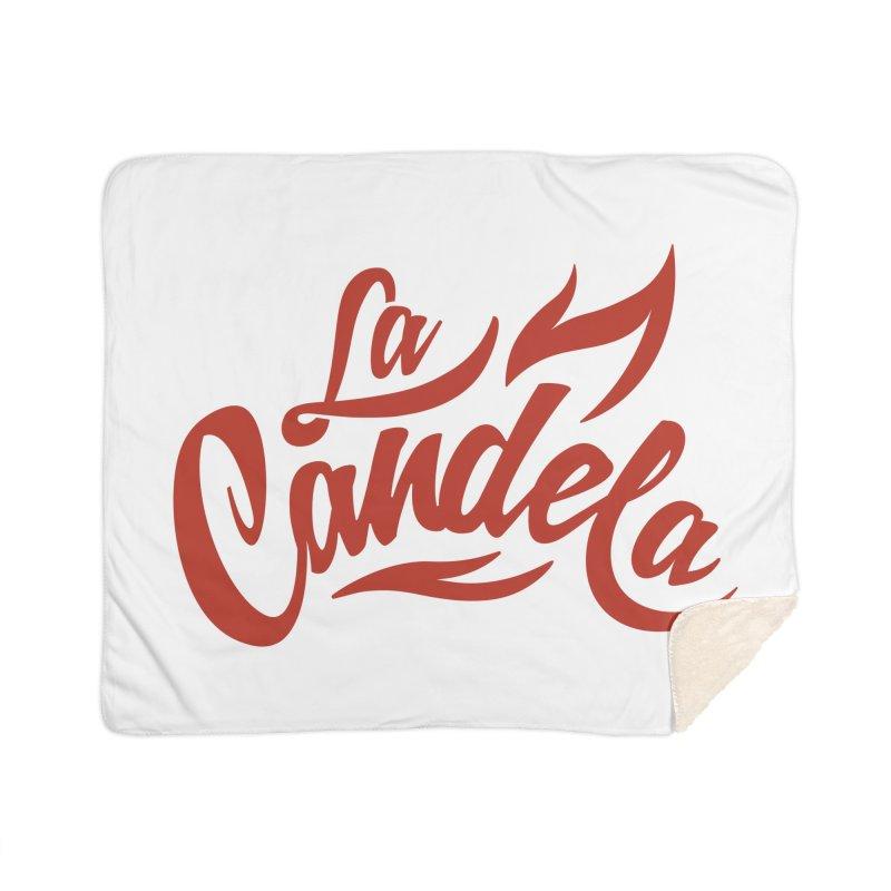 La Candela Red Label Home Blanket by La Candela Shop