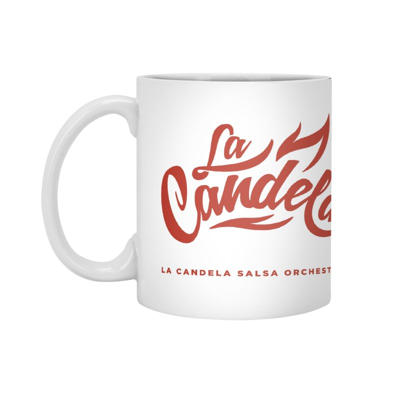 La Candela Red Label Accessories Mug by La Candela Shop