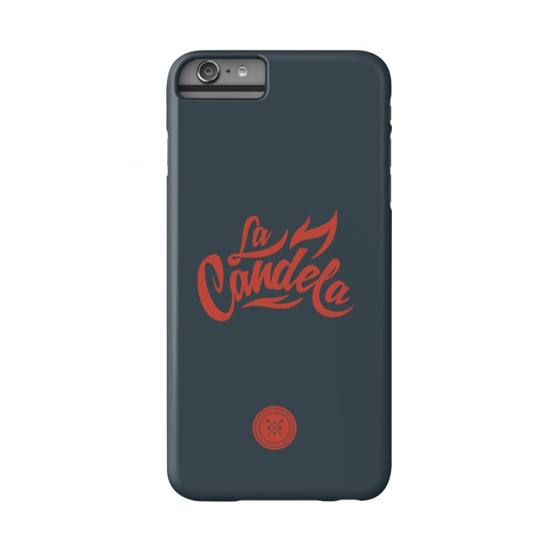 La Candela Red Label Accessories Phone Case by La Candela Shop