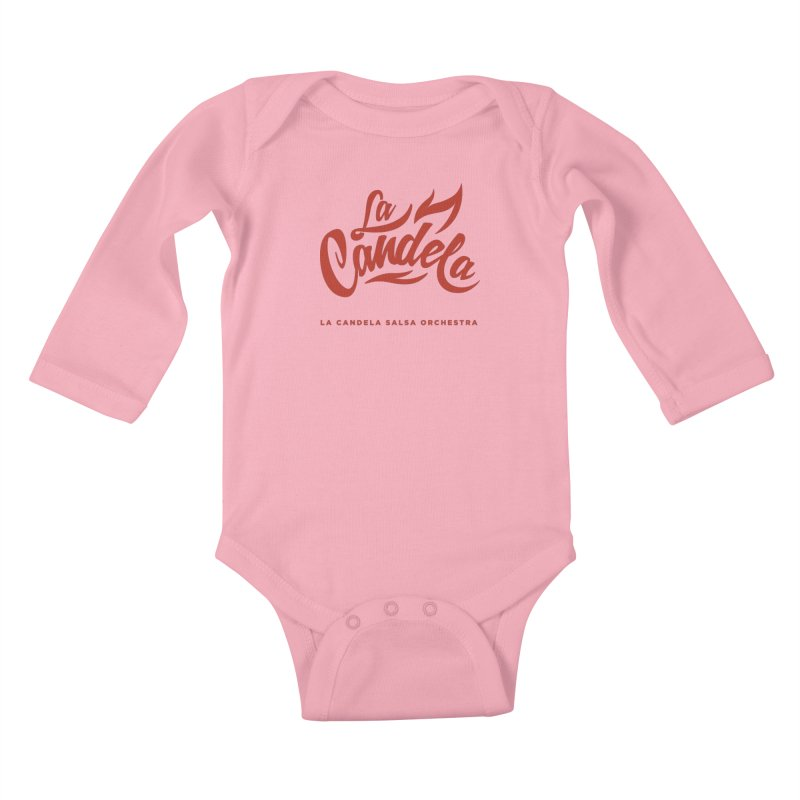 La Candela Red Label Kids Baby Longsleeve Bodysuit by La Candela Shop
