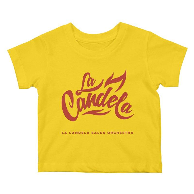 La Candela Red Label Kids Baby T-Shirt by La Candela Shop