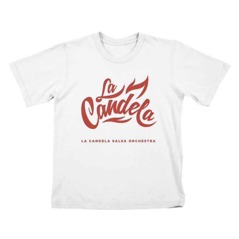 La Candela Red Label Kids T-Shirt by La Candela Shop