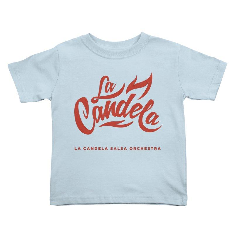 La Candela Red Label Kids Toddler T-Shirt by La Candela Shop