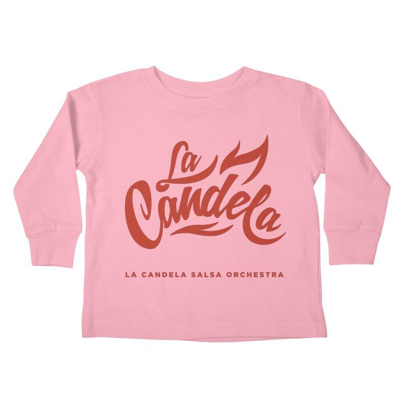 La Candela Red Label Kids Toddler Longsleeve T-Shirt by La Candela Shop