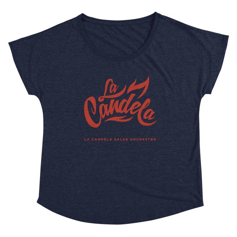 La Candela Red Label Women's Scoop Neck by La Candela Shop
