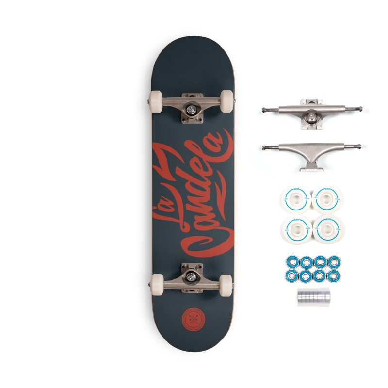 La Candela Red Label Accessories Skateboard by La Candela Shop
