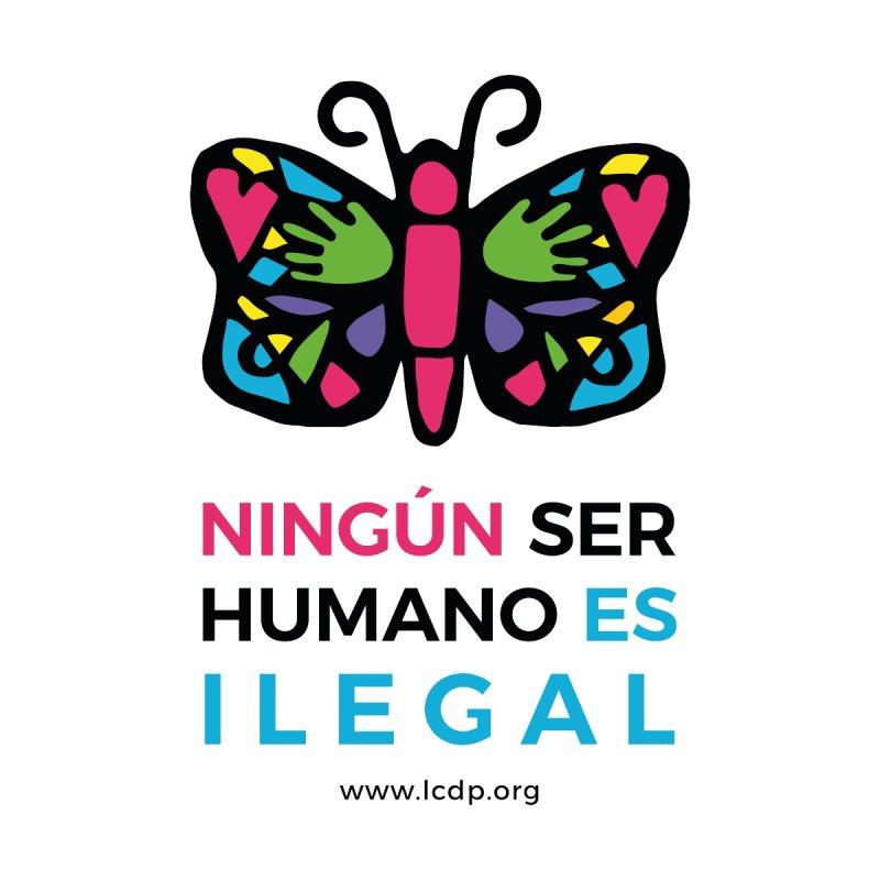 Ningun ser Humano es Ilegal Women's Scoop Neck by La Clinica del Pueblo Retail Store