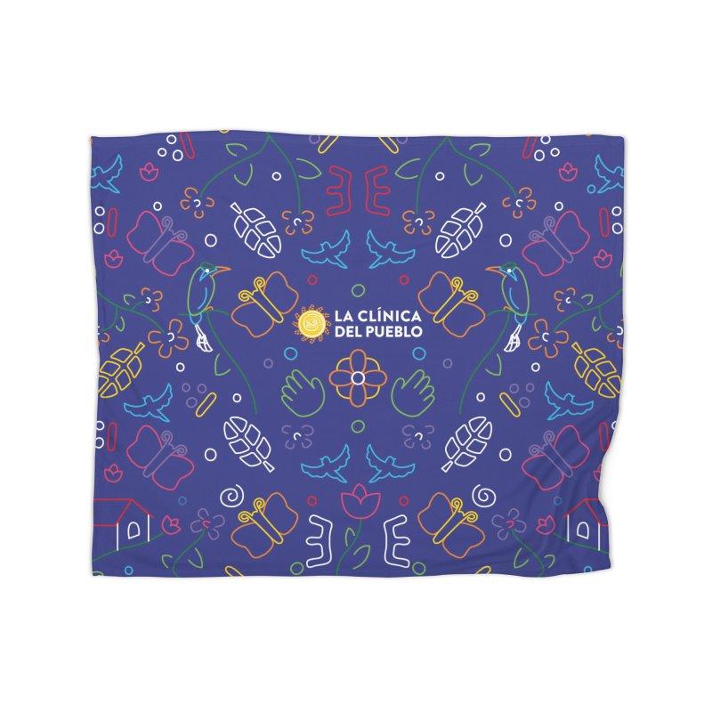 La Clinica del Pueblo Blanket Home Blanket by La Clinica del Pueblo Retail Store