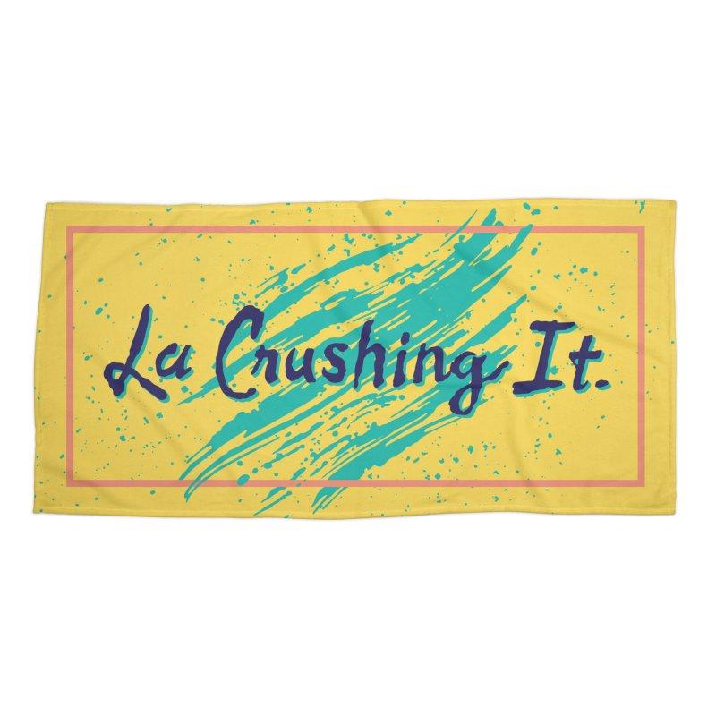LCI Brush 01 Accessories Beach Towel by lacrushingit's Artist Shop