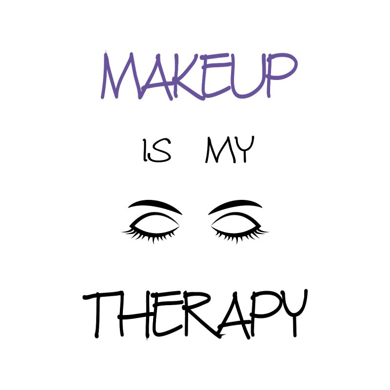 Makeup therapy Accessories Notebook by BubaMara's Artist Shop