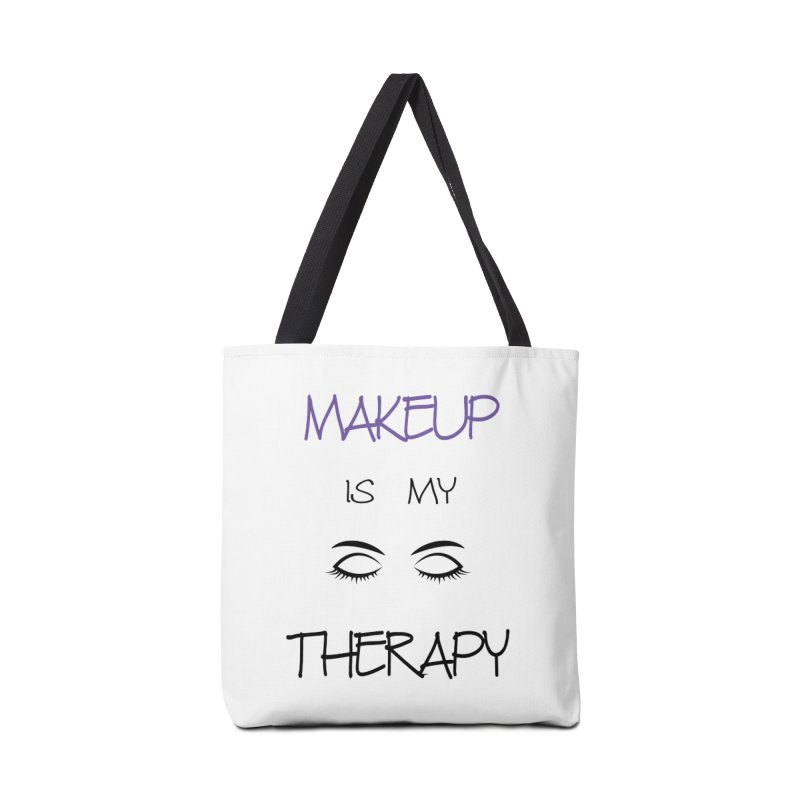 Makeup therapy Accessories Tote Bag Bag by BubaMara's Artist Shop