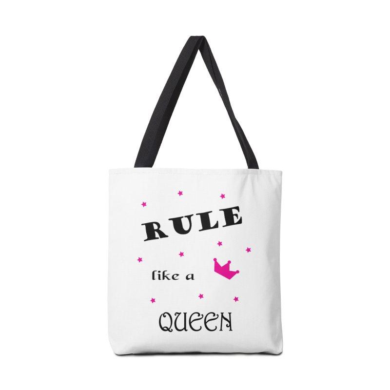 Rule like a queen Accessories Tote Bag Bag by BubaMara's Artist Shop