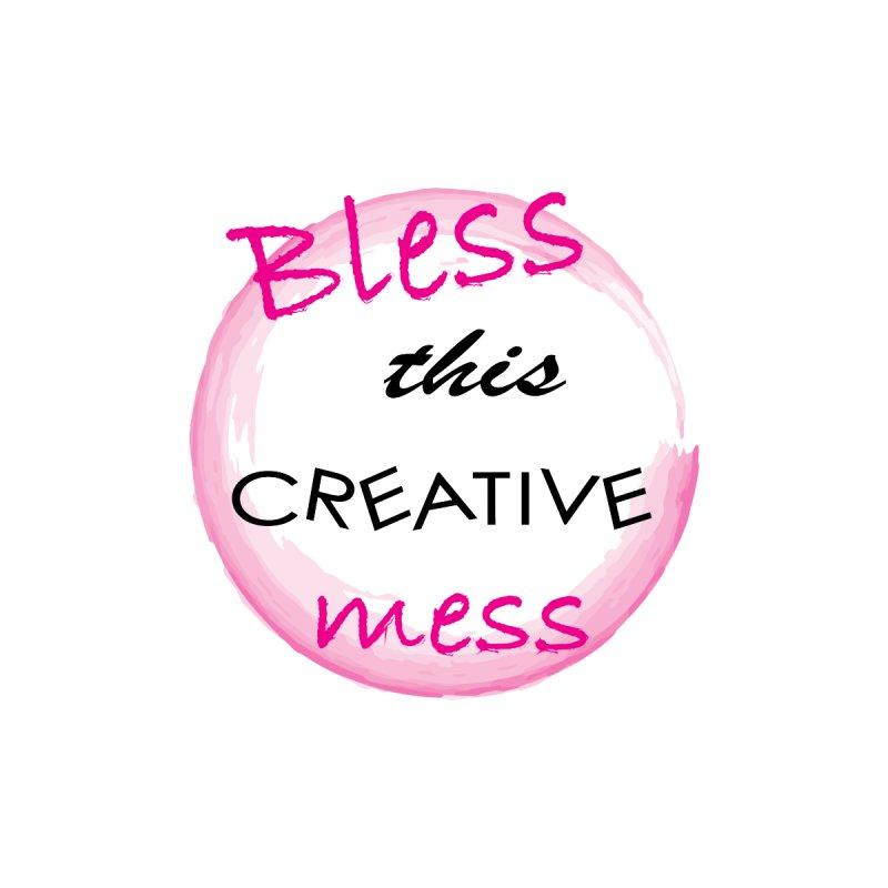 Bless this creative mess Accessories Notebook by BubaMara's Artist Shop