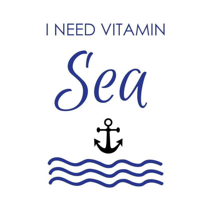 I need vitamin sea Home Shower Curtain by BubaMara's Artist Shop