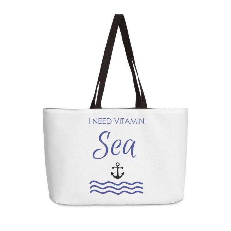 I need vitamin sea Accessories Weekender Bag Bag by BubaMara's Artist Shop
