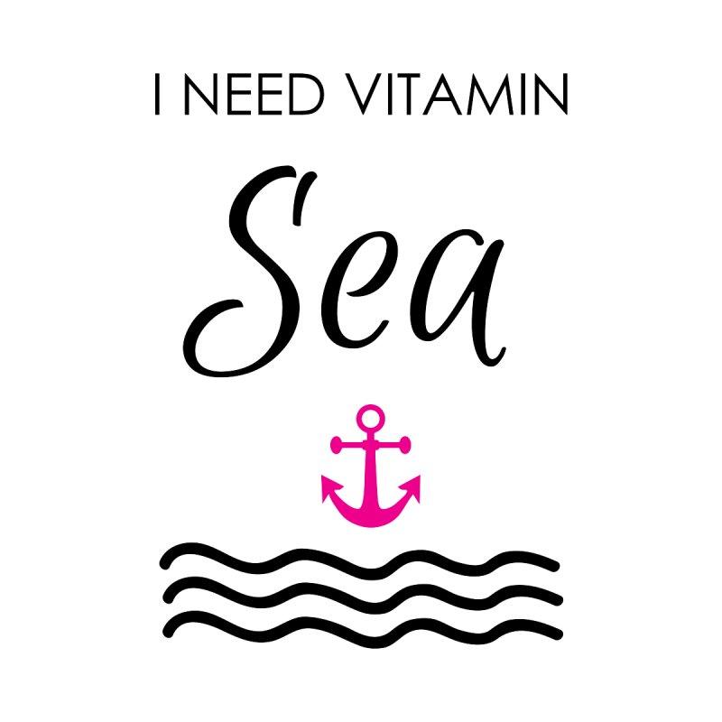 I need vitamin sea Men's Zip-Up Hoody by BubaMara's Artist Shop