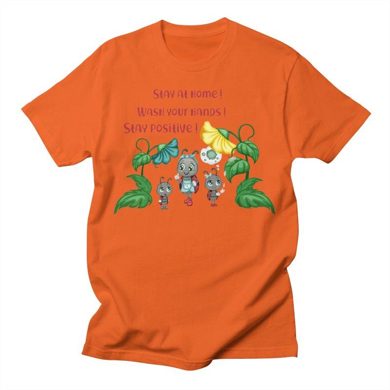 Covid-19 Men's T-Shirt by BubaMara's Artist Shop