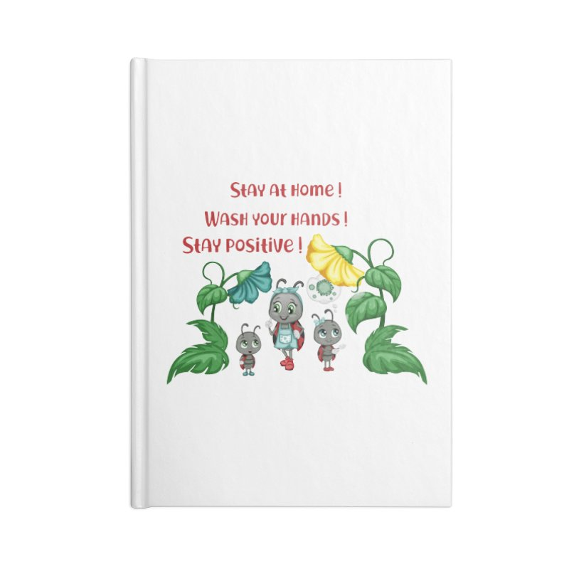 Covid-19 Accessories Notebook by BubaMara's Artist Shop
